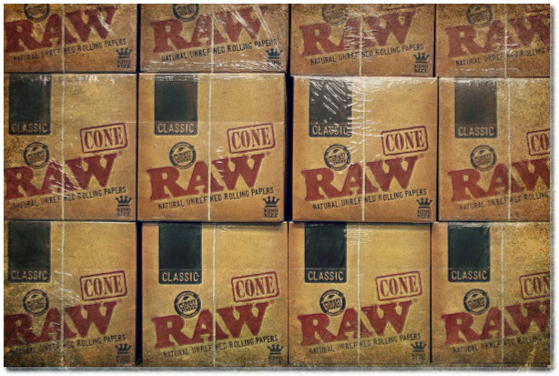 raw natural rolling paper